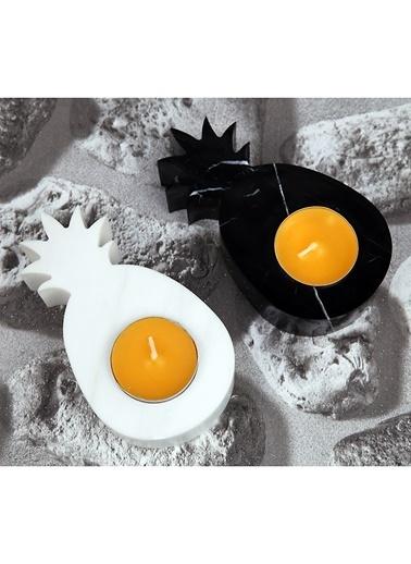Ananas Mermer 2'li Mumluk-3Wdesign
